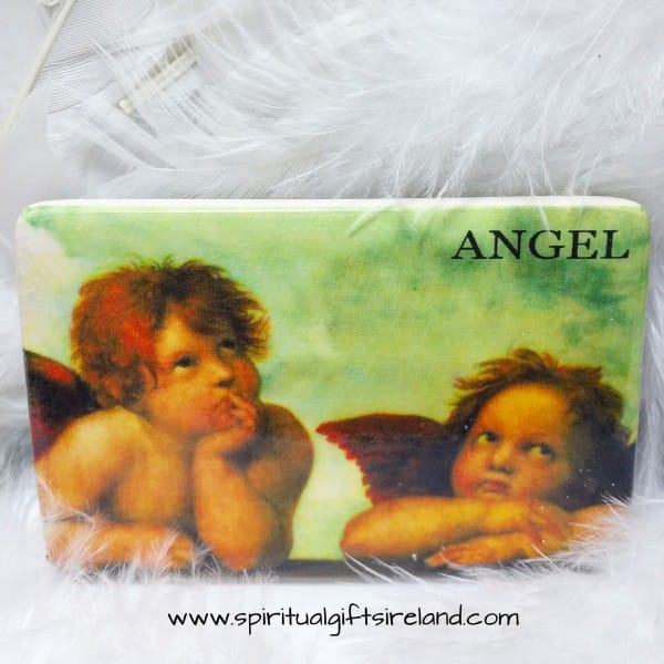 Cherub Handmade Pottery Magnets Thinking Cherubs