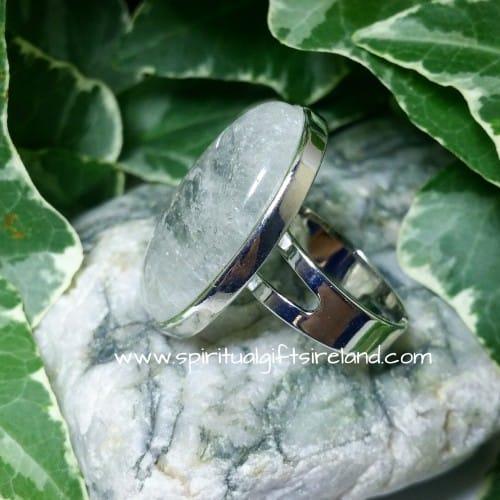 Clear Quartz Master Healer Adjustable Gemstone Ring (7)
