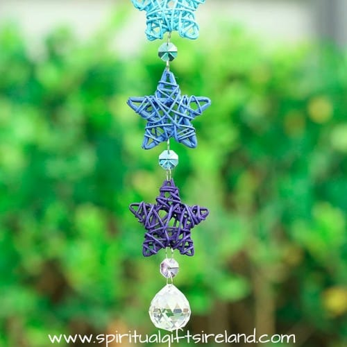 Rainbow Star Swarovski Crystal Suncatcher (3)