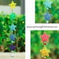 Rainbow Star Swarovski Crystal Suncatcher (5)
