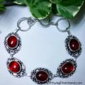 Red Agate Root Chakra Crystal Gemstone Bracelet