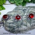 Red Agate Root Chakra Crystal Gemstone Bracelet (7)