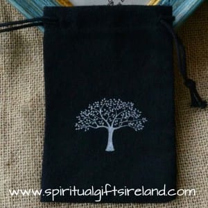 Abundance Tree Gift Bags Pouches 100% Cotton