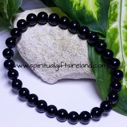 Black Onyx Bracelet Wide Fit
