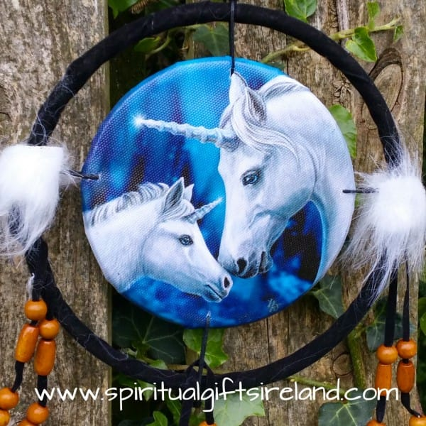 Unicorn Dreamcatcher Mandala Small