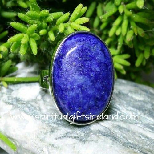 Lapis Lazuli Ring Adjustable Size