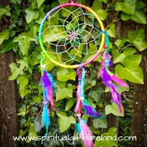 Rainbow Magic Feather Dreamcatcher