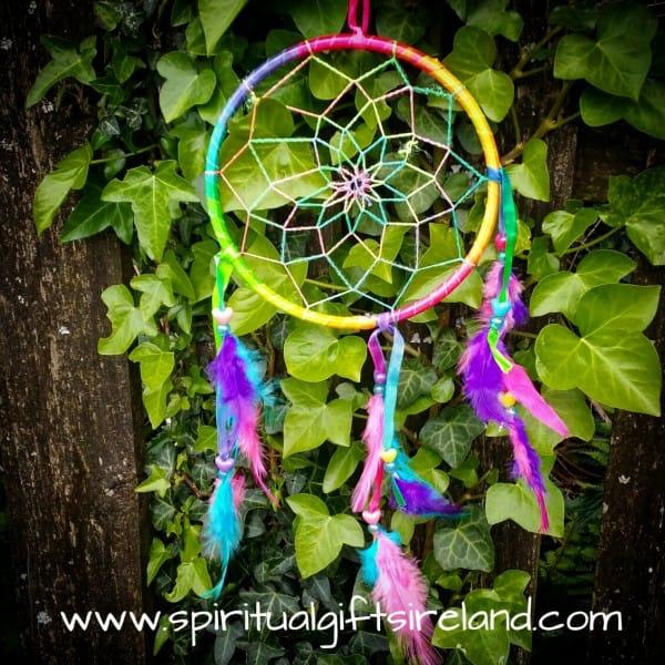 Rainbow Magic Feather Dreamcatcher