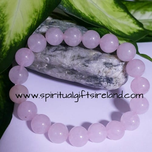Rose Quartz Heart Chakra Bracelet