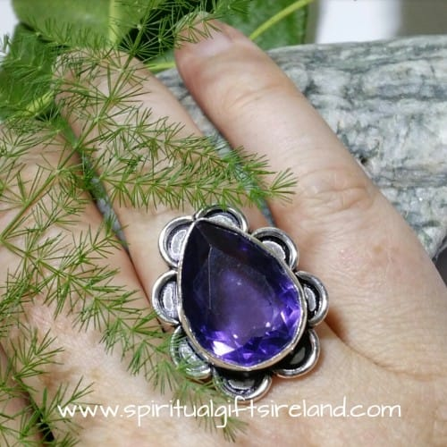 Handcrafted Sterling Silver Gemstone Rings