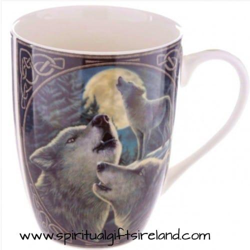 Wolf Song Bone China Mug