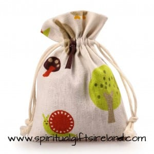 Woodland Forest 100% Cotton Eco Friendly Gift Bags