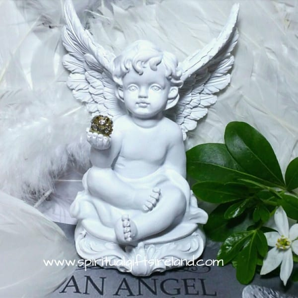 Angel Statue Healing Hand