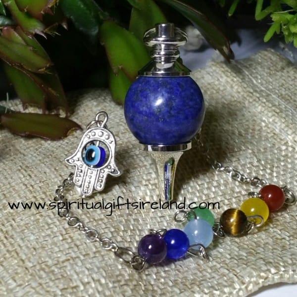 Lapis Lazuli Reiki Chakra Pendulum