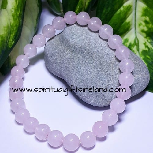 Rose Quartz Bracelet Larger Size