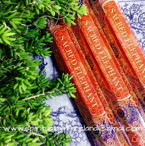 All New Sacred Elephant Amber Incense