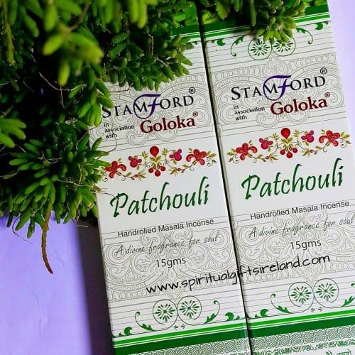 Goloka Premium Patchouli Incense