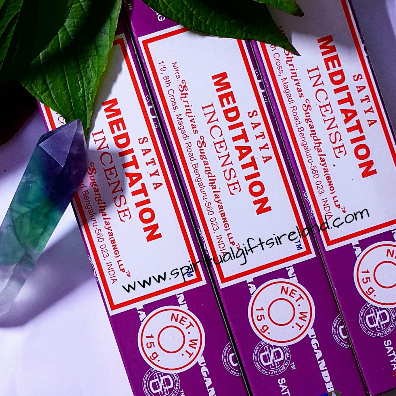 Satya Meditation Exotic Musk Incense