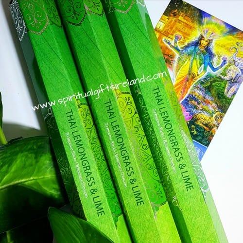 All New Thai Lemongrass & Lime Incense