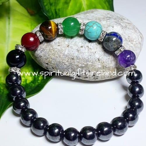 Hematite Bracelet Chakra Stone