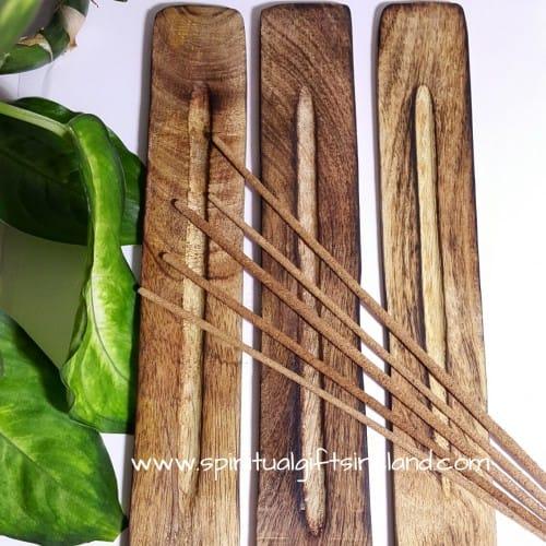 Incense Ash Catcher Plain Wood