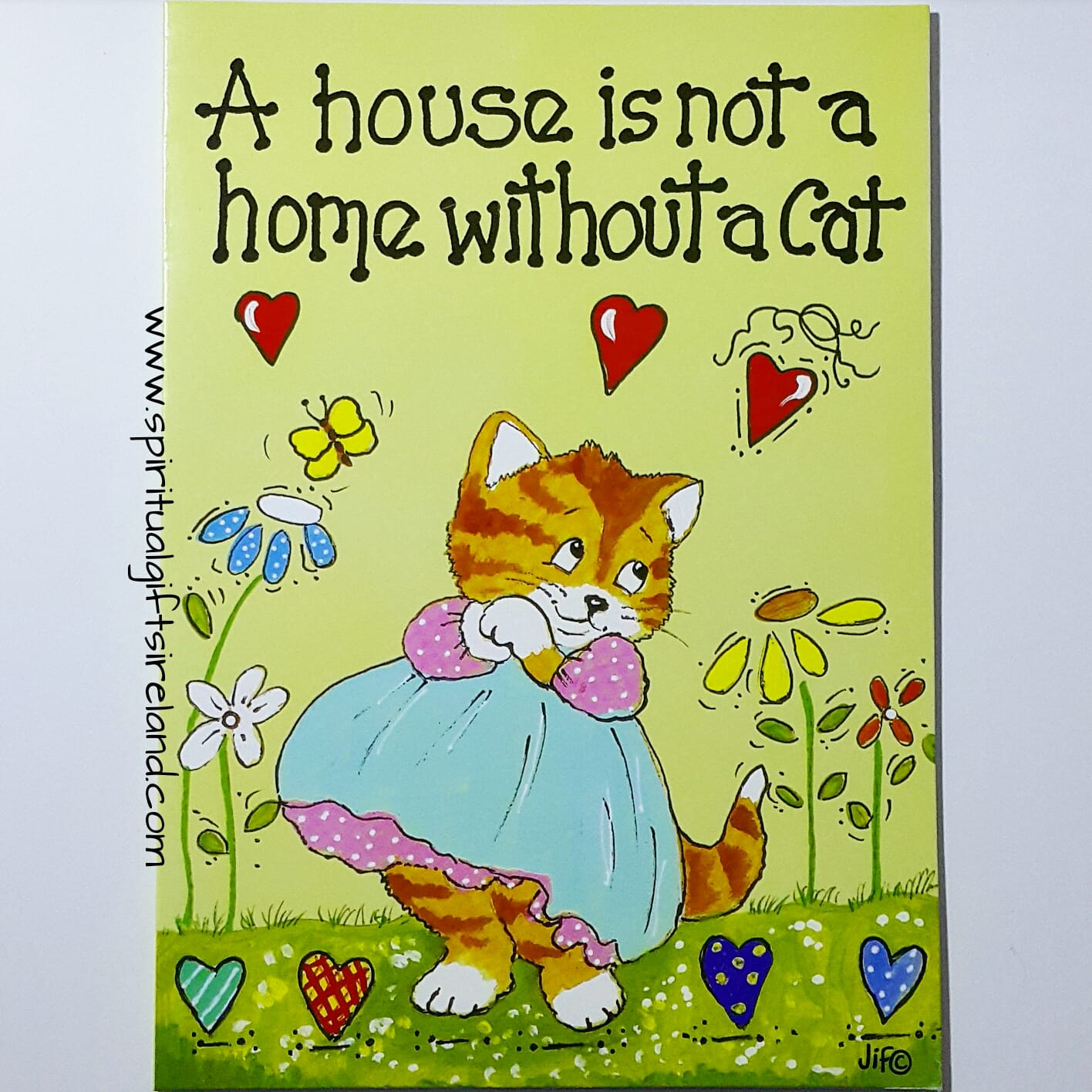 Cat Card For Cat Lovers