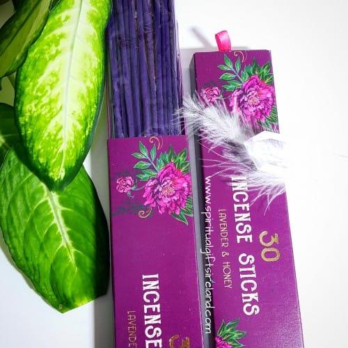 Incense Gift Box Lavender Honey
