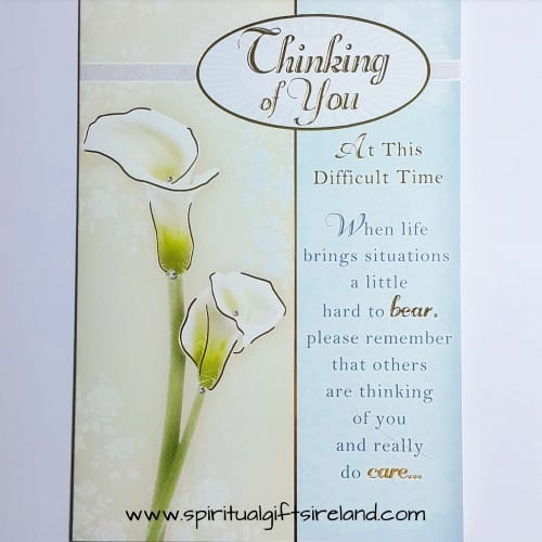 Thinking of You Card At This Difficult Time
