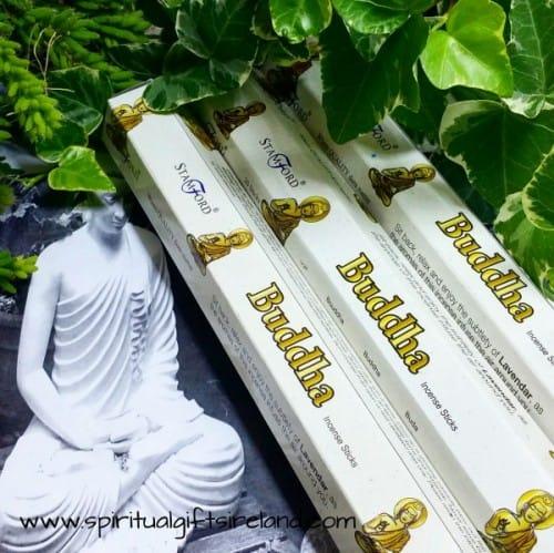 Lavender Incense Buddha By Stamford